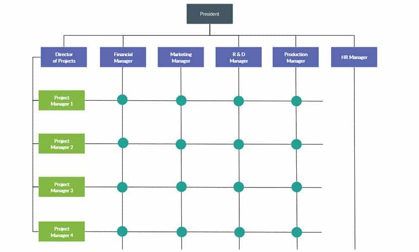 Matrix Org Chart