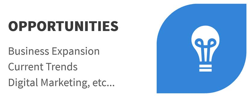 Opportunities - SWOT Analysis