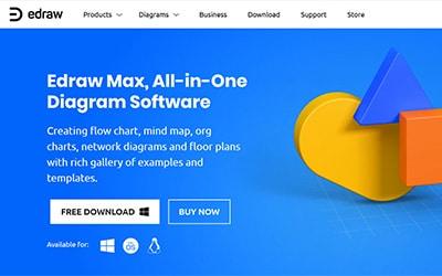 Edraw Max Homepage