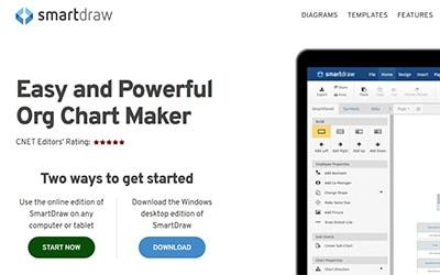 SmartDraw Homepage