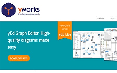 yEd Graph Editor Homepage