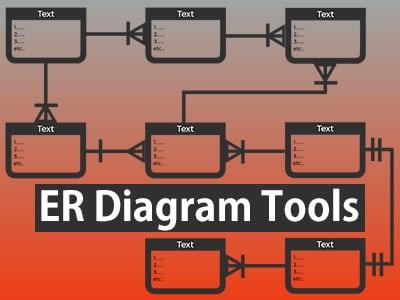 ER diagram tools