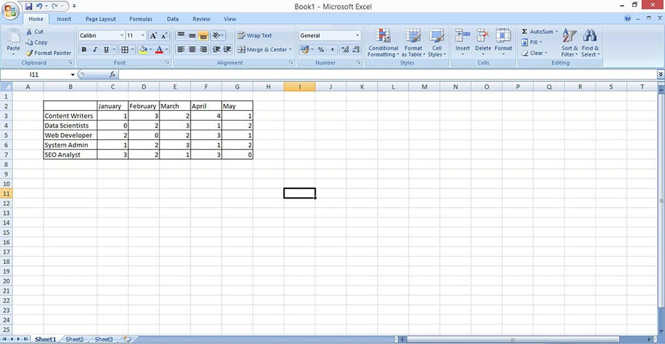 make stacked bar chart in excel 1
