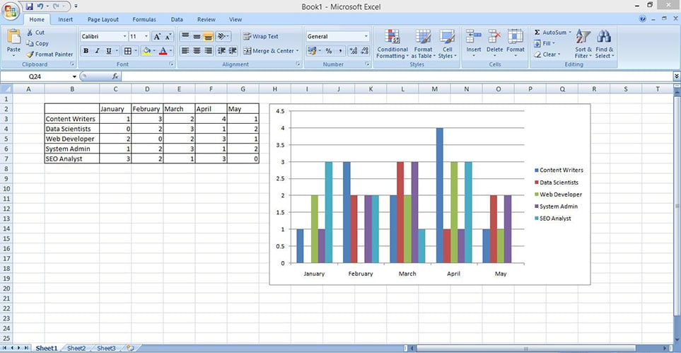 make stacked bar chart in excel 4