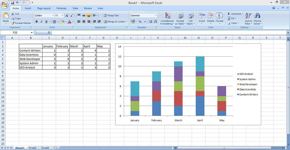 make stacked column chart in excel 4