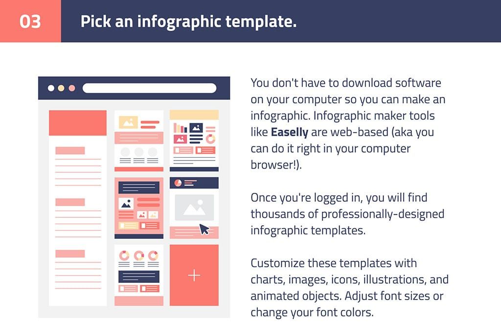 step 3 infographics