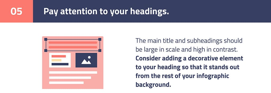 step 5 infographics