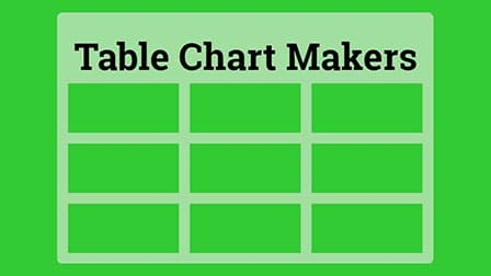 table chart makers